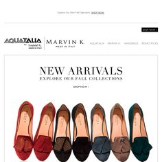 Aquatalia by marvin k - NEW AND NOW: Shop the fall collection