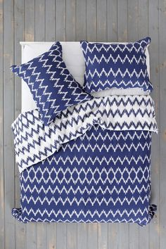 Magical Thinking Chevron Duvet Cover - Urban Outfitters
