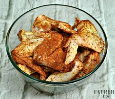 Air Fryer Chicken Wings-Dry Rub Recipe - Father and Us