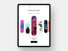 Best Ui Design, Ui Ux Design, Ui Animation, Studio 57, Ui Design Inspiration, Ui Kit, Mobile Ui, Skateboard, Iphone