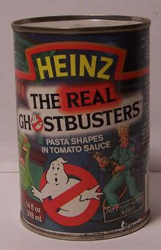 Real Ghostbusters pasta