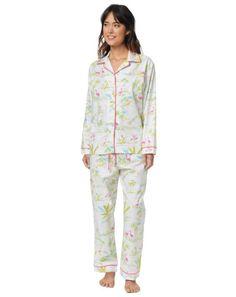 85d95b4110 Little Palm Island Cotton Pajama   The Cat's Pajamas
