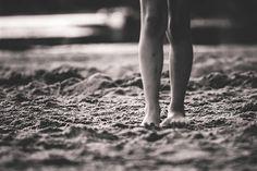 Feeling the sand