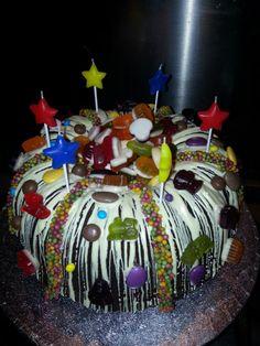 Cake + Chocolate + Sweets + Birthday Boys = Beautiful Chaos!