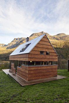 Cabin Laksvatn / Hamran/Johansen Arkitekter