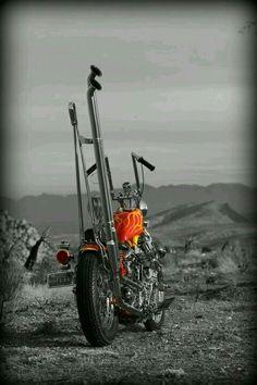 Oldschool chopper..radical