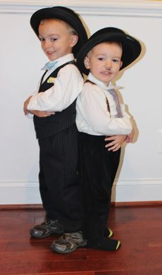 Laurel and Hardy Kid's Costume