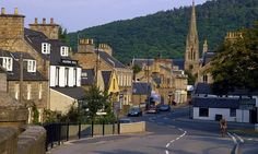 The main street through Ballater, a village on the River Dee - Scotland. Aberdeenshire Scotland, Scotland Uk, Scotland People, Aberdeen Scotland, Travel Around The World, Around The Worlds, Cairngorms National Park, Paradise On Earth, Scottish Highlands