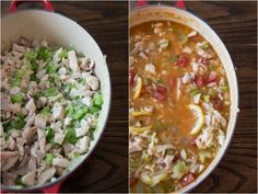 one pot chicken orzo soup