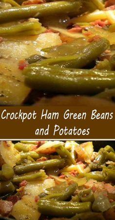 Crockpot Dishes, Crock Pot Slow Cooker, Crock Pot Cooking, Pork Dishes, Pressure Cooker Recipes, Crockpot Meals, Side Dishes, Freezer Meals, Ham And Potato Recipes