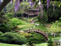 The Japanese Garden bridge, Huntington Library Art Collections and Botanical Gardens, California, USA Asian Garden, Chinese Garden, Tropical Garden, Amazing Gardens, Beautiful Gardens, Famous Gardens, Huntington Library, Huntington Park, Huntington Museum