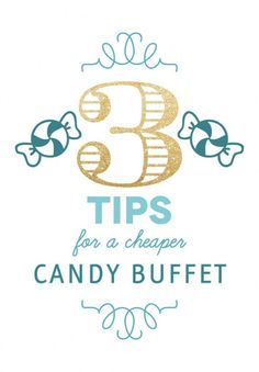 Candy Bars can get really expensive...check this out to find ways to still have a great bar for less.