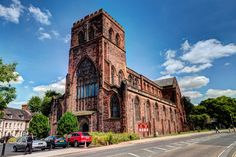 Shrewsbury Abbey, along with Shrewsbury Castle are the town's two oldest landmarks, they were both built by Roger de Montgomery, William the Conqueror's right hand man.
