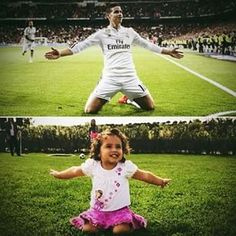 Salomé celebrates like her dad! James Rodriguez, Messi Argentina, Real Madrid Players, Soccer Players, Cristiano Ronaldo, Football, Celebrities, Sports, Husband