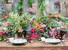 Tropical wedding inspiration | Photography:@iheartmygroom | Venue: @thegoodlandsb | Event design: @bijouxevents | Florals:@ella_and_louie | Tabletop rentals:@otisandpearl | Paper goods:@Penned.by.shani |