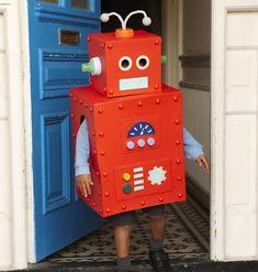 red robot diy
