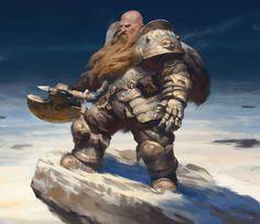 Kilart - Dwarf Fantasy Races, High Fantasy, Fantasy Warrior, Fantasy Portraits, Character Portraits, Fantasy Artwork, Dwarf Paladin, Dnd Paladin, Fantasy Character Design