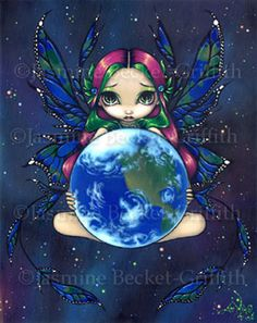 A World in Good Hands by jasminetoad.deviantart.com on @deviantART