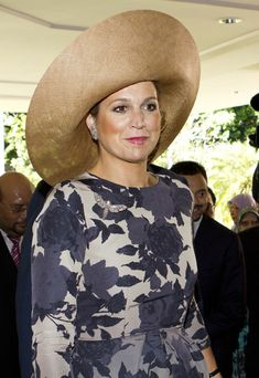 Princess Maxima of the Netherlands looks radiant in the tropical paradise of Brunei -