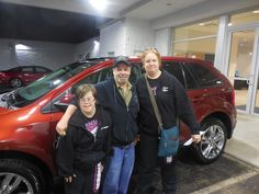 Jake Jakubowski and the rest of us here at Court Street Ford would like to say congratulations to Leon and Carole Genotte of Bourbonnais  on the purchase of their 2014 Ford Edge. Thank you for your business!