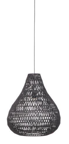 Cable drop pendant lamp - Black