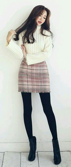 47 Adorable Outfits Every Girl Should Keep - Luxe Fashion New Trends Korean Fashion Wholesale Fashion Mode, Korea Fashion, Cute Fashion, Asian Fashion, Look Fashion, Girl Fashion, Fashion Outfits, Womens Fashion, Fashion Ideas
