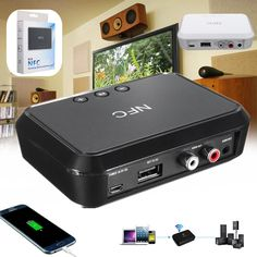 Wireless Bluetooth NFC Audio Receiver for Audio Equipment System
