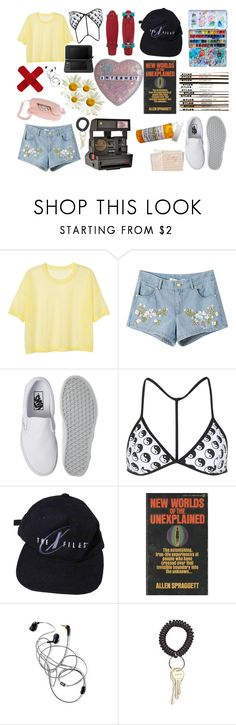 """You're A Fool, But God Am I In Love"" by yunglita ❤ liked on Polyvore featuring Nintendo, Monki, Chicnova Fashion, Vans, Topshop, Hahn and Polaroid"