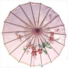 Amazon.com: Asian Japanese Chinese Umbrella Parasol 22in Pink 157-1: Home & Kitchen