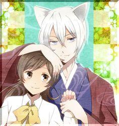 Day 8: Tomoe and Nanami from Kamisama Hajimemashita! I love this couple <3