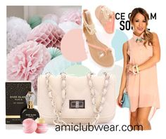 """Amiclubwear # 5"" by sanja90 ❤ liked on Polyvore featuring River Island and Eos"