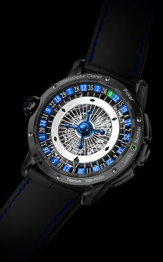 POKER | Gaming Watches | Christophe Claret | REFERENCE : MTR.PCK05.041-060
