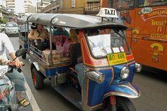 Thai Taxi Cab