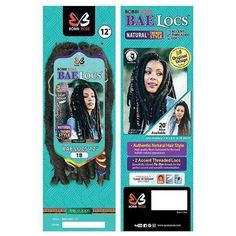 Bobbi Boss Synthetic African Roots Braid Collection Crochet BAE LOCS GOLD 12 Inch - 20 Inch Crochet Braids Twist, Natural Texture, Natural Looks, Locs, Hair Lengths, Color Show, Braided Hairstyles, Bae, Natural Hair Styles