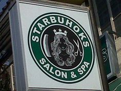 Buhok is hair in Tagalog #Philippines #Filipino #funny #sign #Starbucks #OnlyinthePhilippines #signage #Pinoy #Pilipinas #Pinas #humor