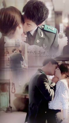 I want her to feel, with one kiss, how i can make love to her soul for eternity.......... #descendant of the sun