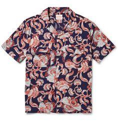 Levi's Vintage Clothing 1950s Hawaiian-Print Twill Shirt   MR PORTER