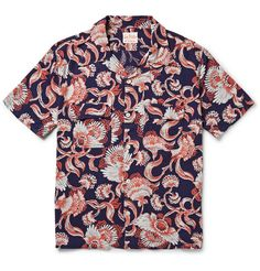 Levi's Vintage Clothing 1950s Hawaiian-Print Twill Shirt | MR PORTER