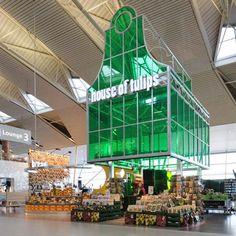 Dutch designers Tjep. Departure Lounge 3 of Schiphol airport, Amsterdam.