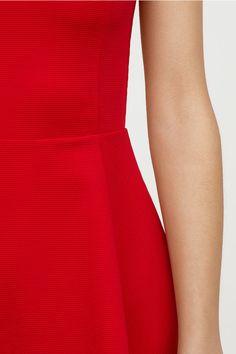 Ärmlös trikåklänning - Röd - DAM | H&M SE 2