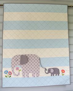 E is for Elephant II PDF Pattern for Digital by Pipersgirls