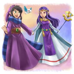 Ravioと王女ヒルダ / Ravio and Princess Hilda