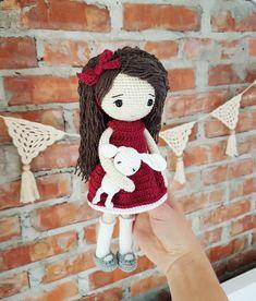 Laleczka❤ . . . #lala #lalka#laleczka #zabawka #przytulanka #szydełko #rękodzieło #doll #crochettoy #crocheting #crochetlove #amigurumitoy #amigurumi #amigurumidoll #crochetdoll #toysworld #toys #insta #instatoy #toyspho #kidsworld #instalike #instaworld #kids #girl #handmadedoll #handmadewithlove #handmade