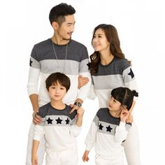 31b7a05734 Matching Cotton Sweaters for Families Price: 11.70 & FREE Shipping  #kidsclothes Couple Tshirts