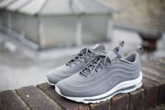 The Air Max '97 has always been a popular shoe in the UK, be it on the foot of the classic British chav or the esteemed sneaker head, it's fair to say that it found it's place here on our shores. So, it makes me very happy to see it getting a VT treatment that does it justice.