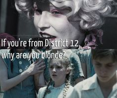 Oh my gosh Effie, you can't just ask people why they're blonde!