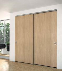 Porte De Placard Coulissante Miroir Gris FORM Valla X Cm - Portes de placard coulissant
