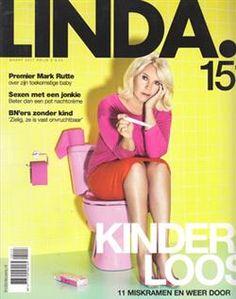 Cover magazine LINDA. tonen