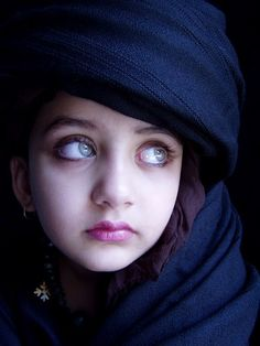 Children Corner. Amazing Beautiful Girl Child Of Pakistan