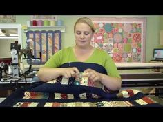 Jelly Roll Week - Sarah talks about the coins quilt you tube